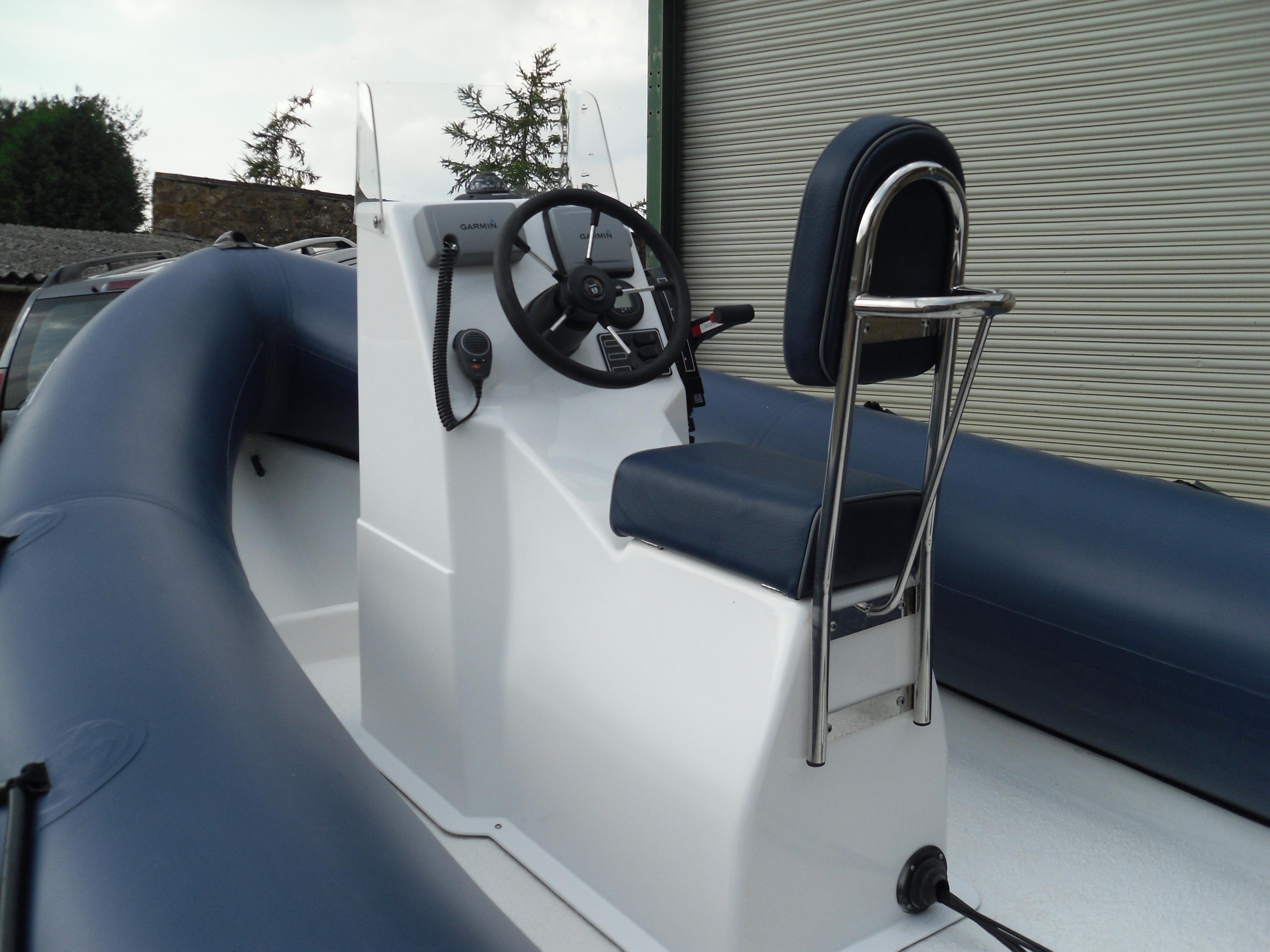 New PBS single jockey rib console « Ribs4U Rigid Inflatable Boat RIB